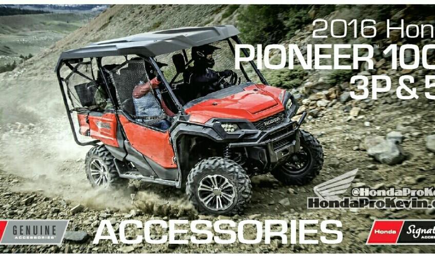 2016 Honda Pioneer 1000 Accessories Review   Side By Side / UTV / SxS / ATV