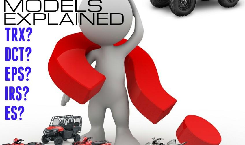 2016 Honda ATV Model Names Review - Recon - Rancher - Foreman - Rubicon - Rincon - TRX90X - TRX250X - TRX400X - TRX450R