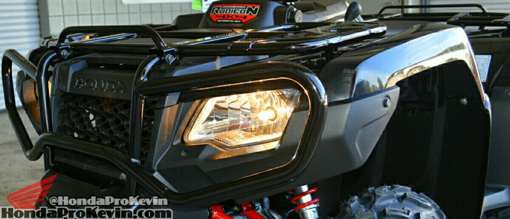 2016 Honda FourTrax Foreman Rubicon TRX500 ATV - Quad - Four Wheeler Model ID Review