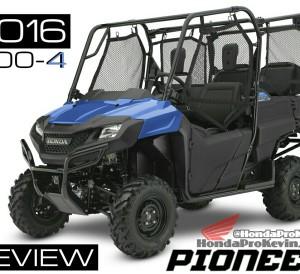 2016 Honda Pioneer 700 Review - Side by Side / UTV / SxS / ATV Model Specs