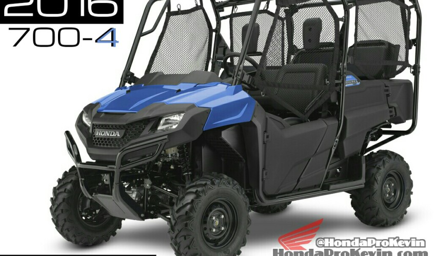 2016 Honda Pioneer 700 Review - Side by Side / UTV / SxS / ATV Model Specs
