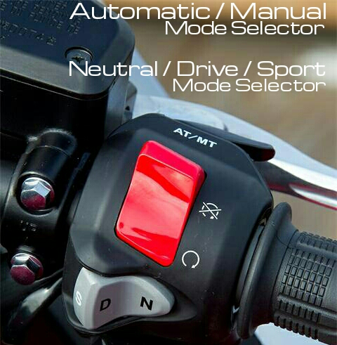 Honda DCT Automatic Motorcycle Controls - X-ADV, Africa Twin, CTX700, CTX700N, NC700X, NM4, Vultus