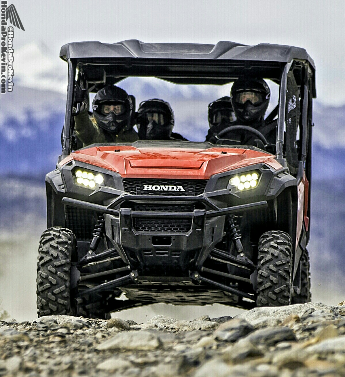 2016 Honda Pioneer 1000-5 5 Seater SxS / UTV / Side by Side ATV 1000 cc