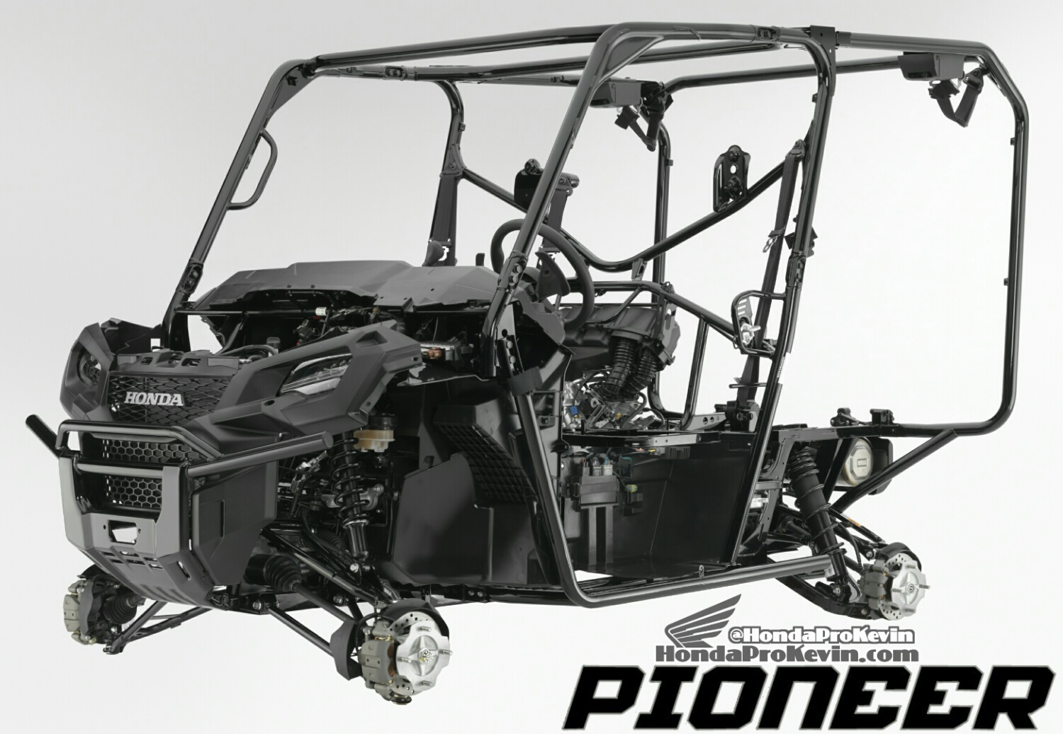 2017 Honda Pioneer 1000-5 Frame / Chassis - Review - Side by Side / UTV / SxS / Utility Vehicle