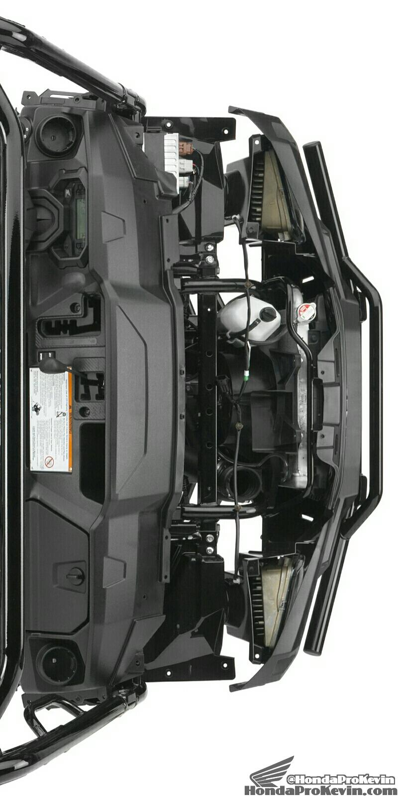 2016 Honda Pioneer 1000 & 1000-5 Frame Pictures - Photo Gallery - SxS / UTV / Side by Side ATV - SXS1000 - SXS1000M3 - SXS1000M5