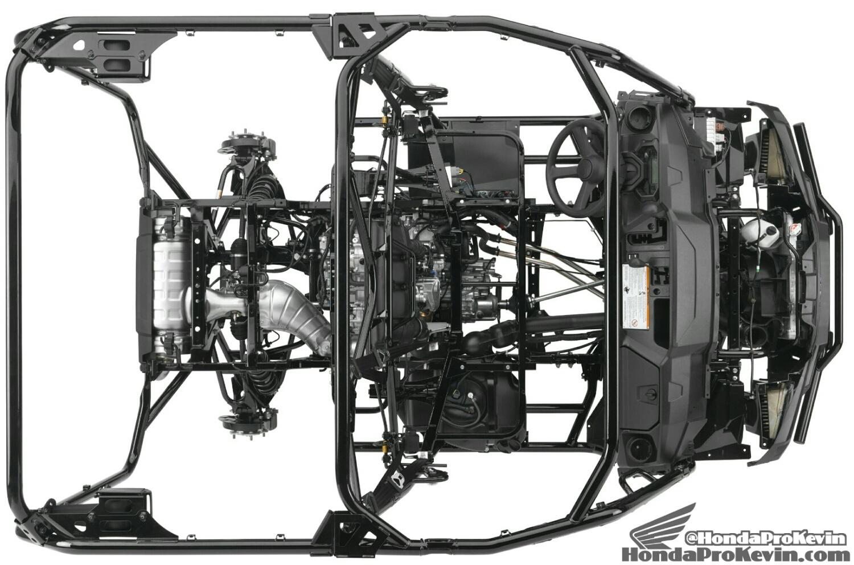 2016 Honda Pioneer 1000 & 1000-5 Frame Pictures - SxS / UTV / Side by Side ATV - SXS1000 - SXS1000M3 - SXS1000M5