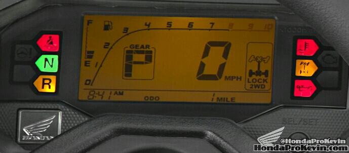 2016 Honda Pioneer 1000 Gauges - Speedometer - SXS1000 - SXS1000M5 Deluxe - SXS1000M3 EPS