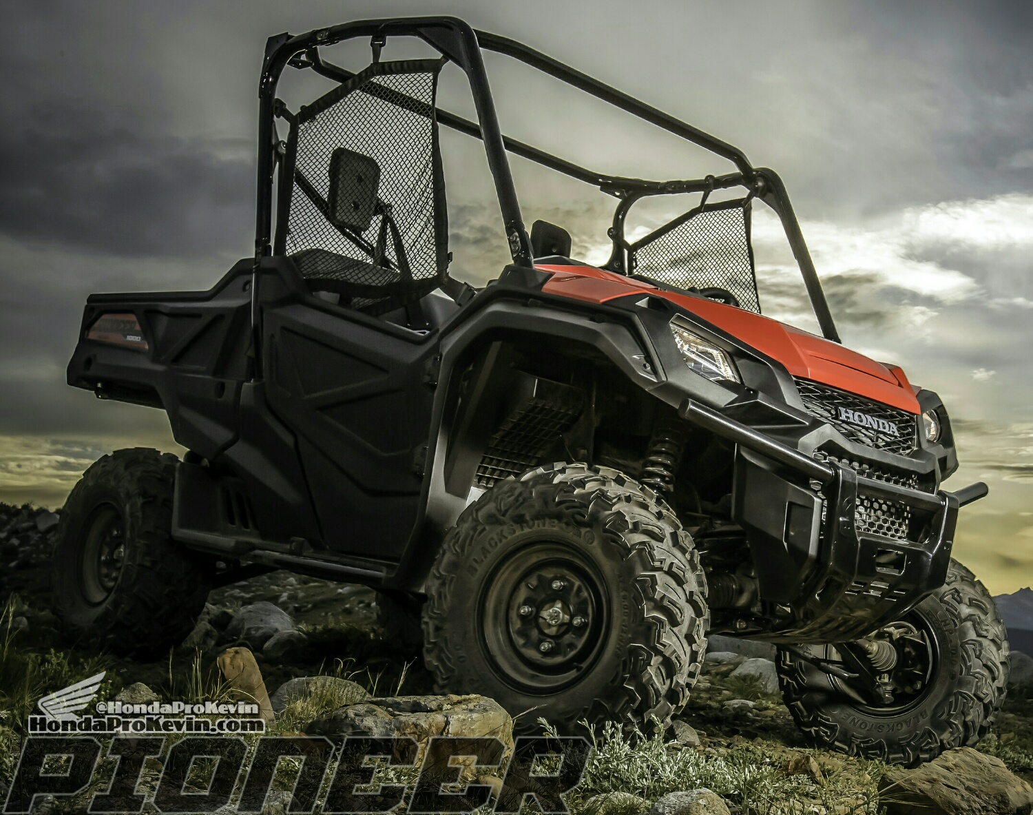 New 2016 Pioneer 1000 Honda SxS / UTV / Side by Side ATV - SXS1000 - SXS1000M3