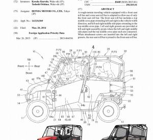 New 2016 Honda SxS Pioneer 1000 Patent Application - Specs - Engine - Horsepower and more! SXS1000 UTV / Side by Side ATV 1000 cc