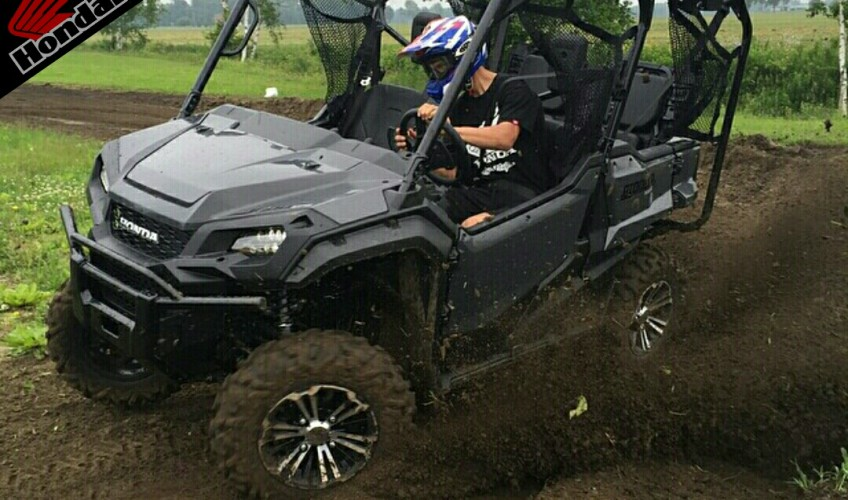 2016 Honda Pioneer 1000 Ride Pictures - Review of Specs - SxS / UTV / Side by Side ATV - SXS1000 - SXS1000M5 Deluxe