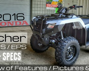 2016 Honda Rancher 420 Review of Specs - DCT IRS EPS