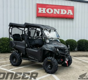 "Custom Honda Pioneer 700-4 27"" inch ITP Tires - ITP SS316 Black Ops Wheels - SxS / UTV / Side by Side ATV - SXS700 M4"