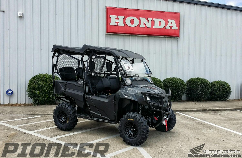 Custom Honda Pioneer 700 4 27 Inch Itp Tires Ss316 Black Ops