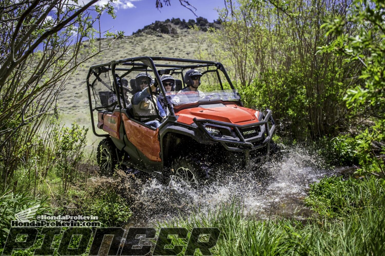 2016 Honda Pioneer 1000 Deluxe SxS - UTV - Side by Side ATV - SXS1000M5