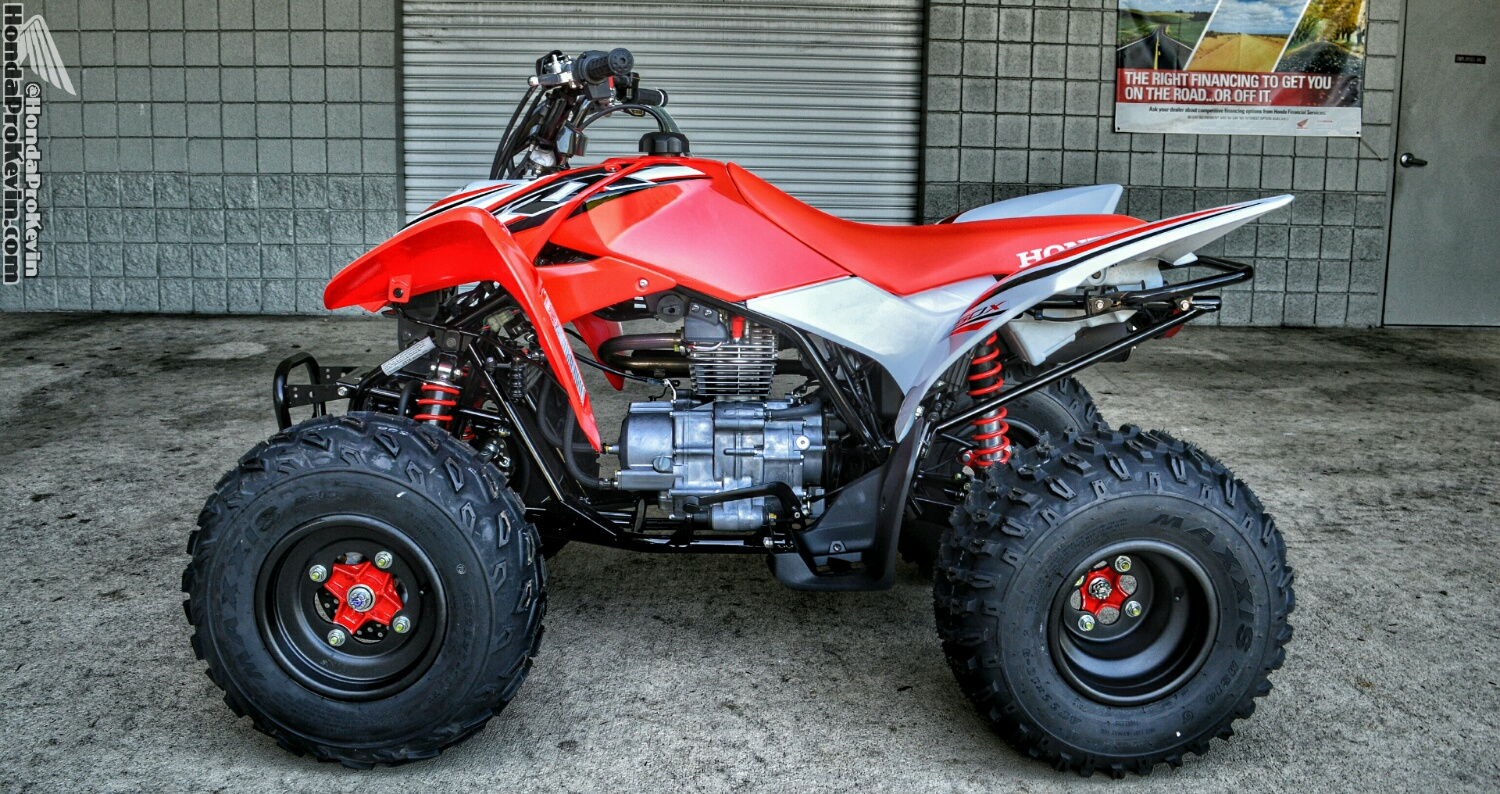 Side By Side Atvs >> 2016 Honda TRX250X Deluxe / SE | Sport / Race ATV Quad ...