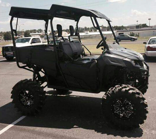 "Honda Pioneer 700 >> Honda Pioneer 700 Lift Kit 5-7"" & 31"" Tires - SxS / UTV / Side by Side ATV | OutKast FabWorx ..."