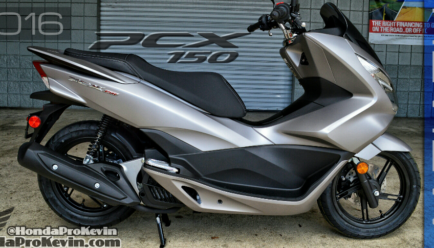 2016 Honda PCX150 Scooter Ride Review | Specs / MPG / Price + More ...
