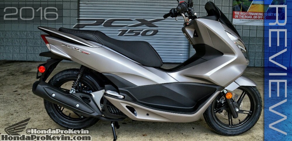 2016 Honda Pcx150 Scooter Ride Review Specs Mpg