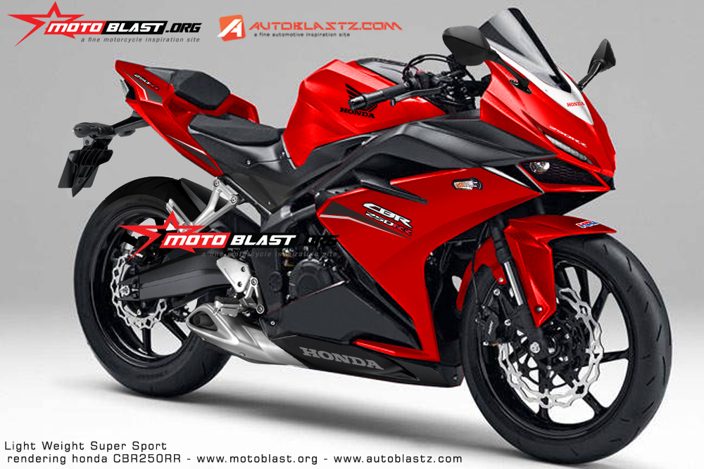 2017 Honda CBR250RR / CBR300RR Coming for the R3, Ninja 300, RC390 ...