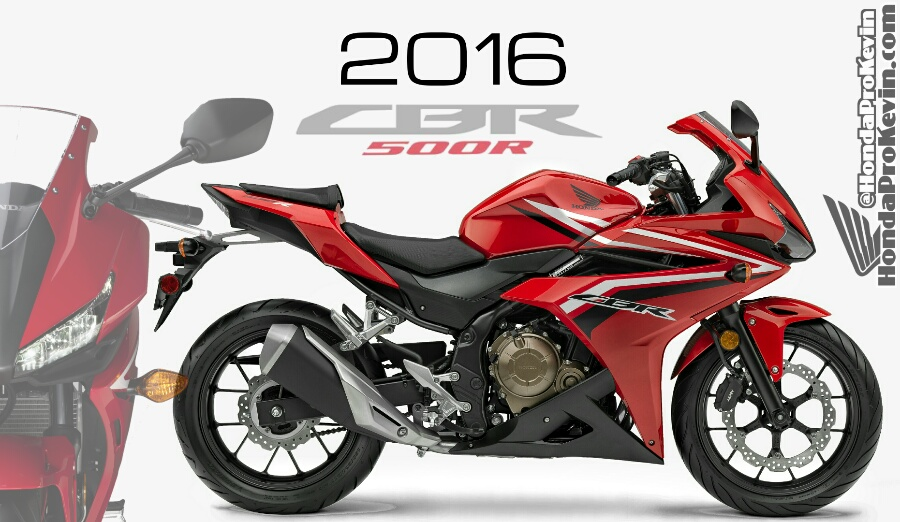 New 2016 Honda CBR500R Sport Bike Info Announcement ...