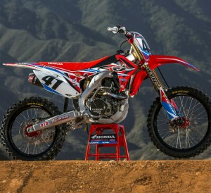 2016 Honda CRF450R Mods / Exhaust Race Dirt Bike Review - Specs - Pictures - MX Motocross & SX Supercross Motorcycle - Trey Canard & Cole Seely