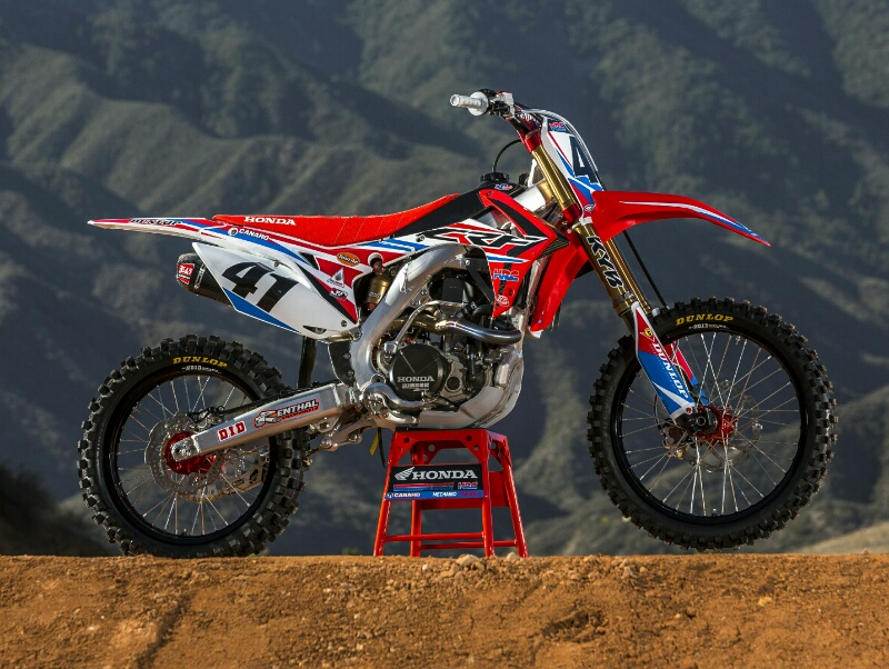 2016 Crf450r Race Bikes Amp Team Honda Hrc Presents 2016