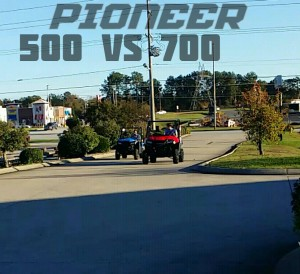 2016 Honda Side by Side Race / UTV - Pioneer 700 vs 500 Comparison Utility Vehicle