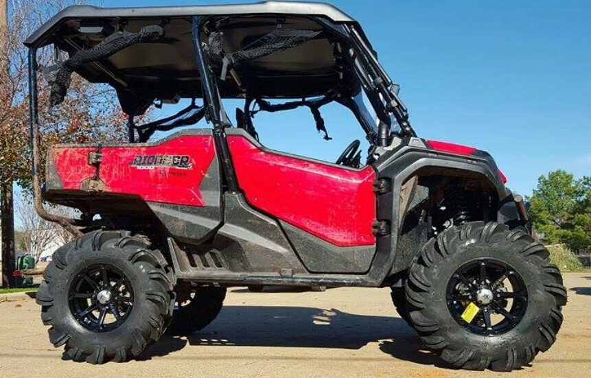2016 2018 Honda Pioneer 1000 Lift Kit 31 Quot Tires Arched