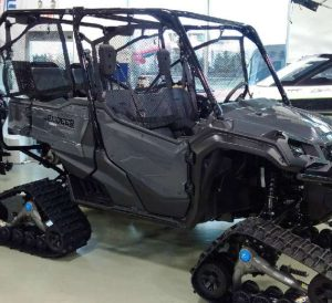 2016 Honda Pioneer 1000 Snow Tracks / Tires & Wheels | Custom Side by Side ATV / UTV / SxS / Utility Vehicle Pictures
