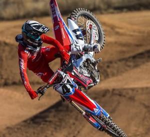 2016 Honda Racing CRF450R HRC MX & SX Race Dirt Bike Video   Trey Canard #41 & Cole Seely #14
