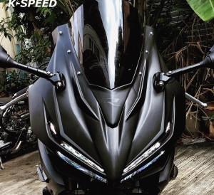 2016 Honda CBR500R Carbon Fiber Exhaust, Performance Parts & Accessories, LED Lights + More | CBR 500R Sport Bike / Motorcycle