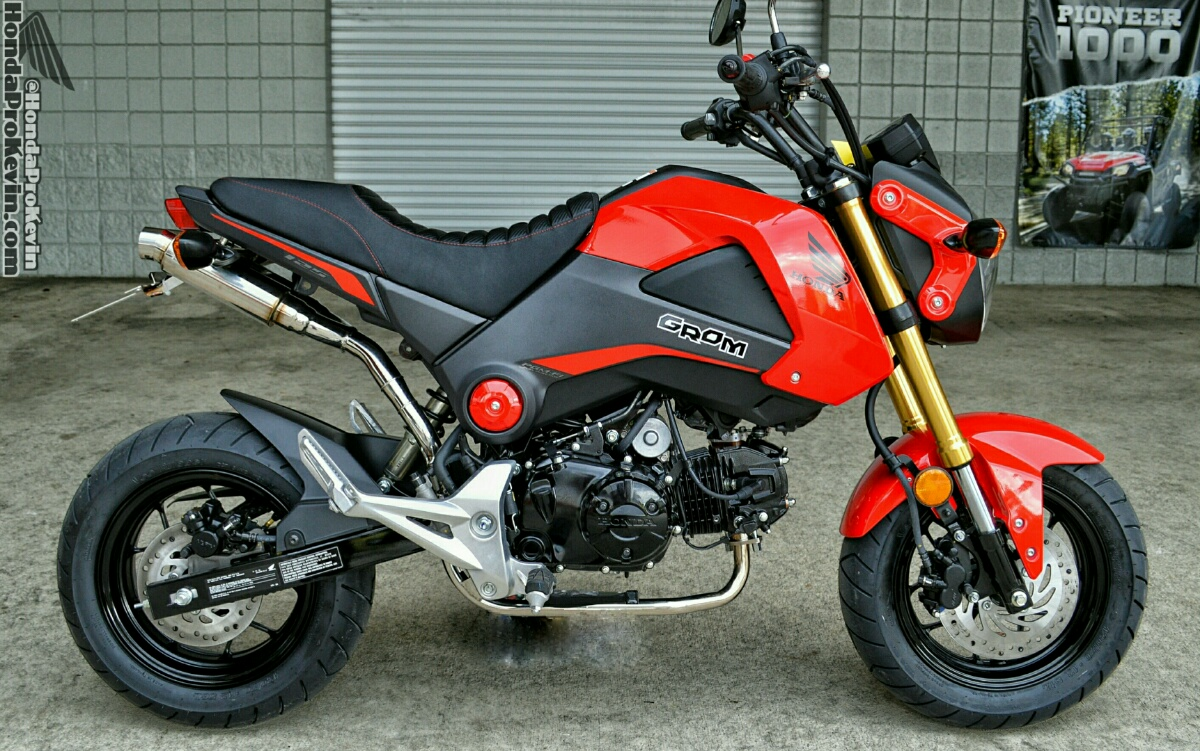 hondapro kevin honda grom msx dual exhaust review wiruswin. Black Bedroom Furniture Sets. Home Design Ideas