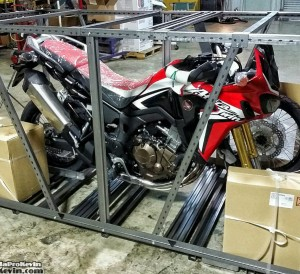 2016 Honda Africa Twin CRF1000L Crate Video | Adventure Motorcycle / Bike