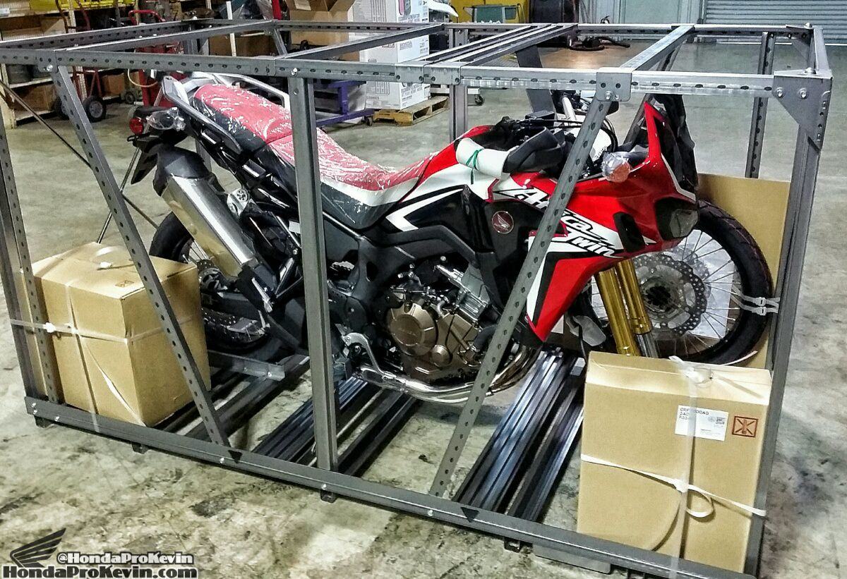 2016 Honda Africa Twin Crf1000l Crate Video Walk Around