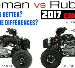 2017 Honda Foreman vs Rubicon 500 ATV Comparison Review / Differences - Which TRX500 is Better?