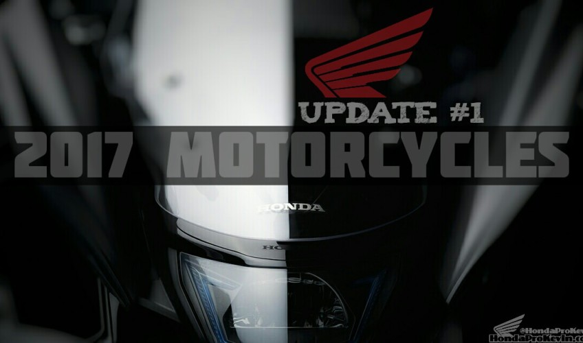 New 2017 Motorcycles & News | Honda Bikes, Scooters, CRF Dirt & Trail Bikes