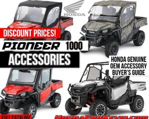 Honda Pioneer 1000 Accessories (OEM) Discount Prices | Side by Side / UTV / SxS / Utility Vehicle Parts (Pioneer 1000-5 included) | Pioneer 1000 Accessory Review