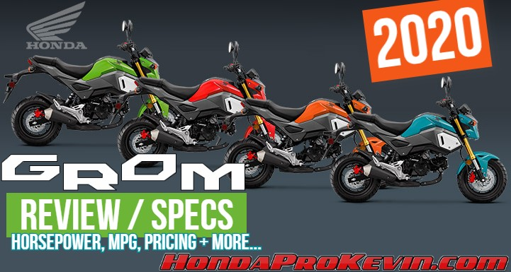 2020 Honda Grom 125 Review / Specs / Changes | 125cc Motorcycle / Naked Sport Bike - miniMOTO (MSX 125)
