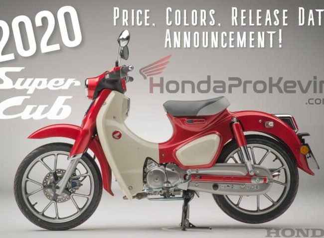 2020 Honda Super Cub 125 Price, Colors, Release Date + More USA Scooter / Motorcycle Info