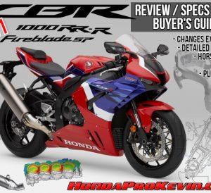 2021 Honda CBR1000RR-R SP Fireblade Review / Specs + R&D with NEW Changes Explained | 2021 CBR1000RR-R Horsepower / Torque Performance Info + More...