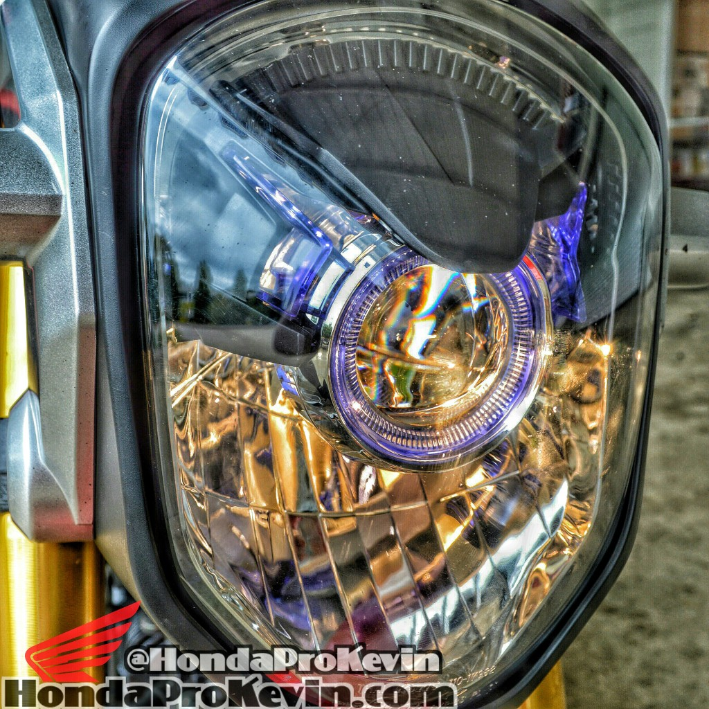 Custom Honda Grom / MSX125 Motorcycle Parts & Accessories - Projector LED Headlight