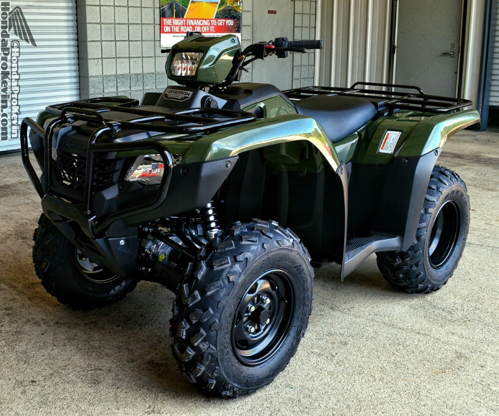 Used Honda Four Wheelers For Sale >> 2016 Honda Foreman 500 ATV Review / Specs - TRX500FM1 ...
