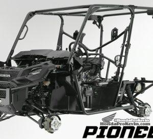 Detailed 2016 Honda Pioneer 1000 & 1000-5 Frame, Suspension, Engine Pictures - Photo Gallery - SxS / UTV / Side by Side ATV - SXS1000 - SXS1000M3 - SXS1000M5