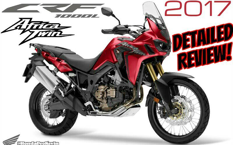 2017 Honda Africa Twin Review of Specs & Changes | CRF1000L Price, Colors, Release Date, Accessories | CRF Adventure Motorcycle / Bike 1000cc