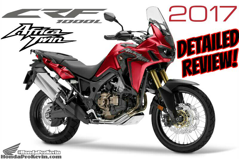 2017 Honda Africa Twin Review of Specs / Changes | Adventure ...