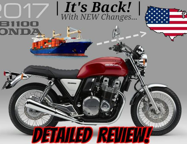 2017 Honda CB1100 EX Review / Specs - Price, Release Date - Retro / Vintage Motorcycle - CB 1100 / CB1100EX Bike