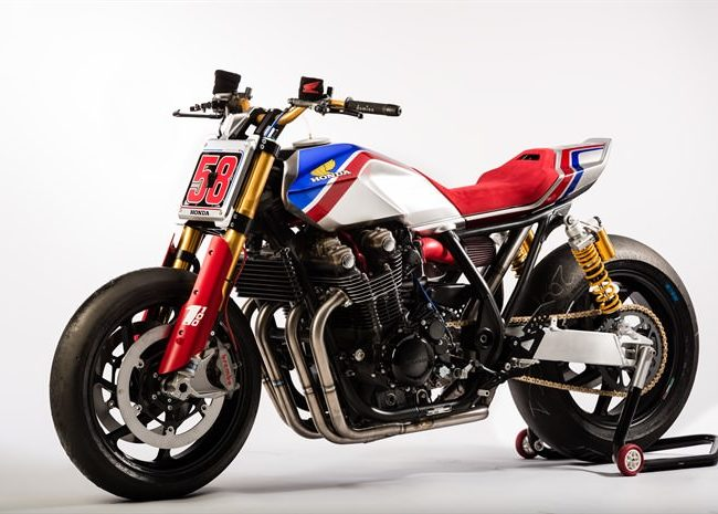 2017 Honda CB1100 TR Concept Motorcycle - Vintage / Retro Cafe Racer Flat-Track Style Motorcycle / Bike