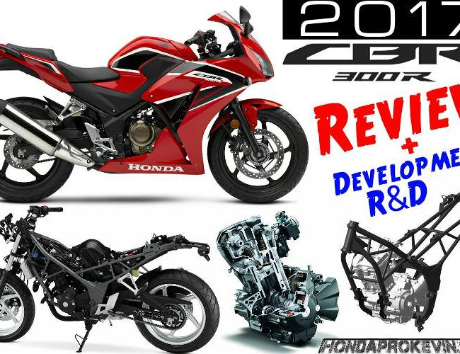 2017 Honda CBR300R Review / Specs & Changes - Sport Bike Motorcycle - Price, MPG, HP, TQ Performance Info