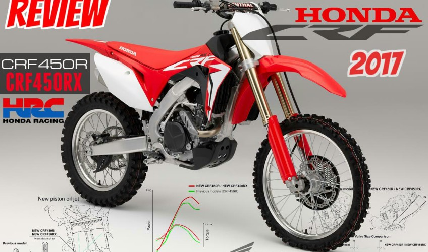 ... Honda CRF450R & CRF450RX Review of Specs & Changes | Honda-Pro Kevin