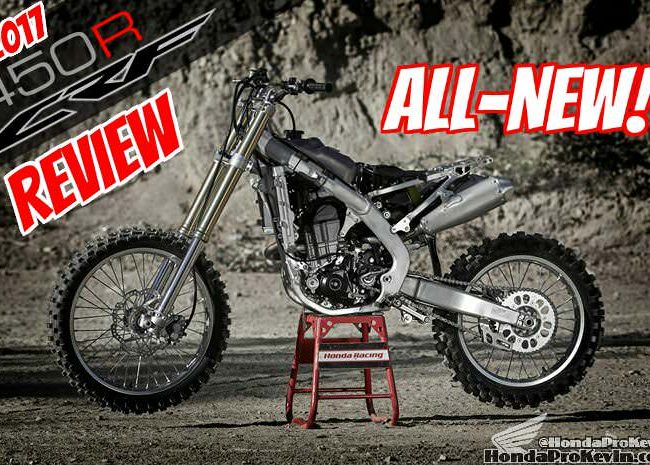 2017 Honda CRF450R Dirt Bike Review / Specs & Changes   Motorcycle CRF 450 R, CRF450, 450R